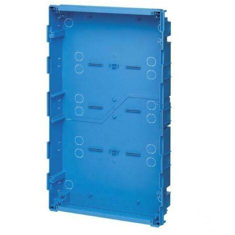 Boite incasso per centralino estetico 72 moduli azzurro v53372