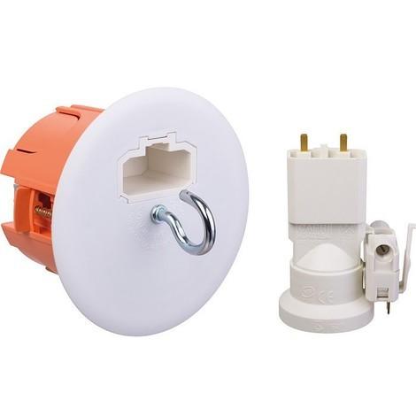 Boîte luminaire point de centre et douille DCL
