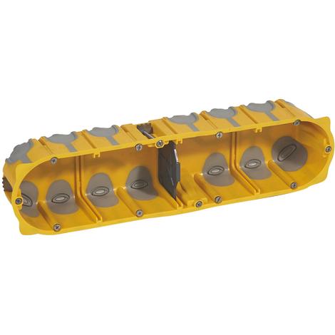 Boîte multipostes Prog. Ecobatibox - 4 postes - 8/10 modules - prof. 50 mm