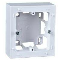 Boîte Odace Styl pour montage en saillie - 1 poste - Blanc - Schneider Electric
