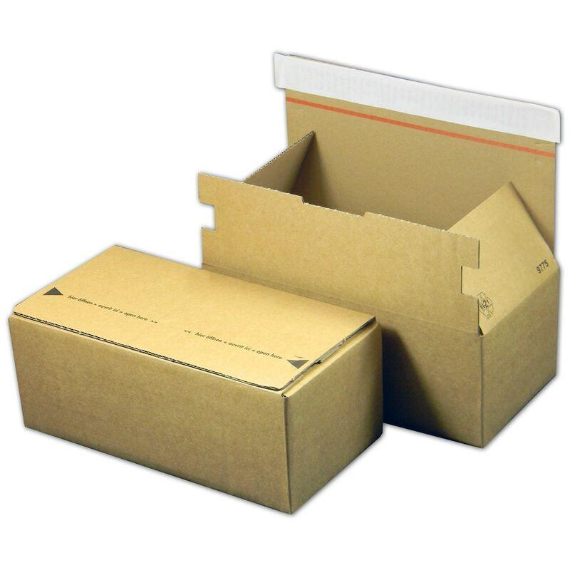 Lot de 50 Bo/îtes postales A5 extra-plates format 240x160x45 mm