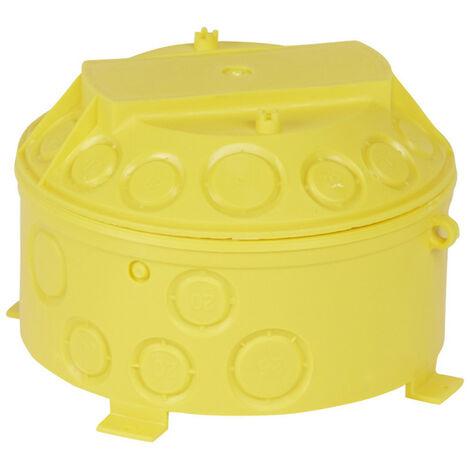 Boîte pour combles et hourdis Batibox cloisons sèches diamètre 140mm profondeur 100mm (089380)
