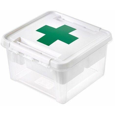 Boite premier secours av couv ref.3597110