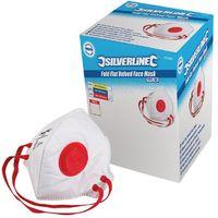 Boîte présentoir de 25 masques respiratoires pliables à valve FFP3 NR - FFP3 NR