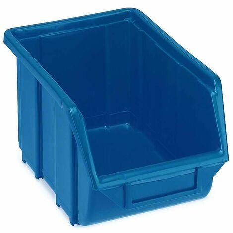 Boite rangement Taille 3 bleu B160xH129xT250 mm (Par 30)