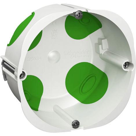 Boîte simple Multifix Air - 1 poste - Pour prise 20/32A - Diamètre 85 mm