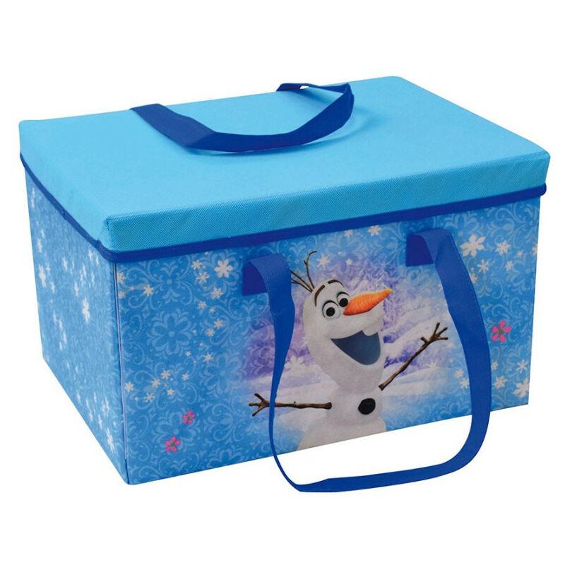 Boîte tapis de jeu transportable Reine des Neiges 2 Disney Anna Elsa Olaf Sven Kristoff