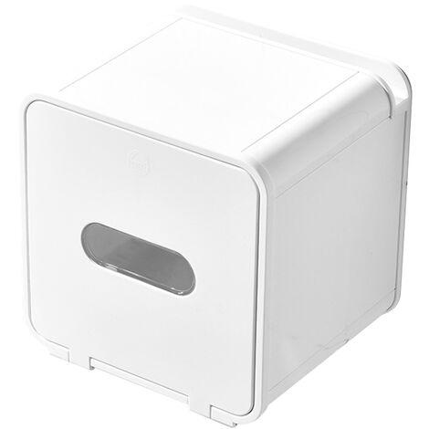 Boites De Rangement Papier Toilette Papier Boite Multifonctions Papier Hygienique Etanche Mural Punch-Free Roll, Acier Inoxydable, Petit