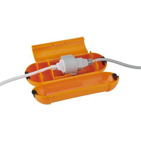 Boitier assurant l'etancheite de 2 rallonges - Debflex