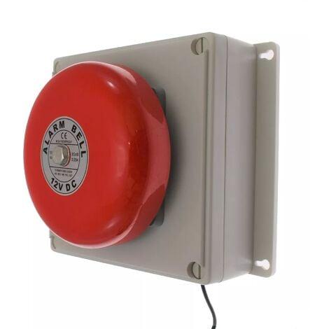 Boîtier d'alerte supplémentaire étanche longue distance sans-fil - récepteur / cloche (PROTECT 800)