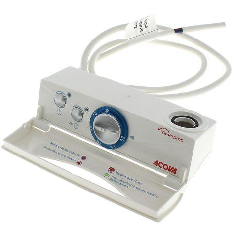 Boitier de commande timerprog + module pour Radiateur Acova, Seche-serviettes Acova