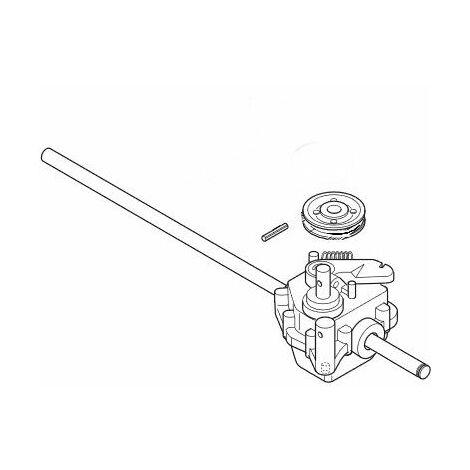 Boitier de traction tondeuse Alpina