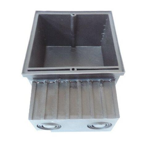 Boitier d'encastrement 88.5x122.5x55mm pour luminaire WALL 90 PLANLICHT 740030