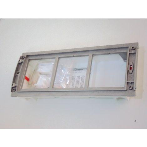 Boîtier d'encastrement + châssis 3 modules verticale pour interphonie SFERA Terraneo BTICINO 331130