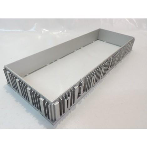 Boitier d'encastrement métal 453X171X55mm pour luminaire 3 spots Grid In Trimless 3 DELTA LIGHT 202619503