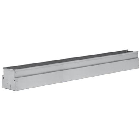 Boîtier d'encastrement pour luminaire fluo encastré 54W dimensions 1230X90X104mm D49 NASTER CASTALDI D49/G2