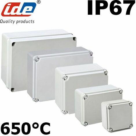 Boitier électrique étanche IP67