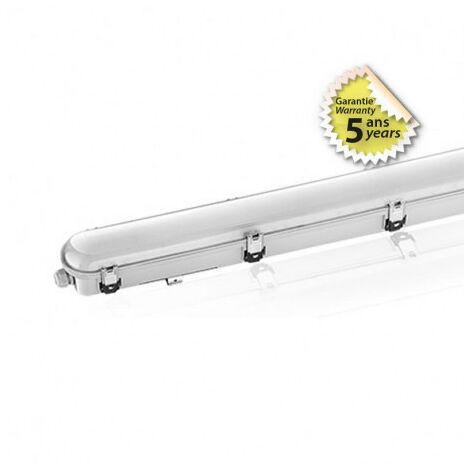 BOITIER ETANCHE LED INTEGR 48 W 6000K IP65 1270 x 140
