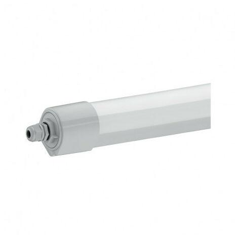 Boitier étanche LED intégrées 36W (320W) IP65 Blanc chaud 3000°K Opale Travers.
