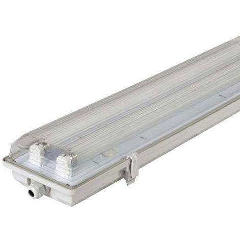 Boîtier étanche pour deux tubes LED T8 60cm
