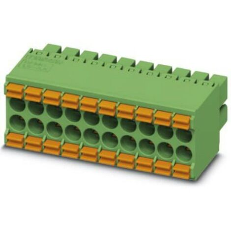 Boîtier femelle pour câble Phoenix Contact DFMC 1,5/10-ST-3,5 1790182 Nbr total de pôles 10 Pas: 3.5 mm 1 pc(s)