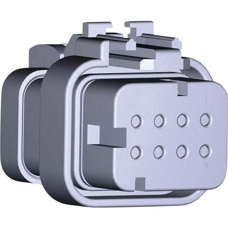 Boîtier femelle pour câble série AMPSEAL16 TE Connectivity AMPSEAL16 776494-1 Nbr total de pôles 8 1 pc(s) Y725771