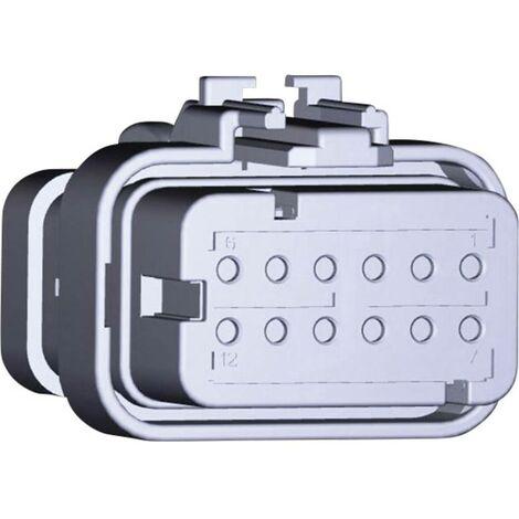Boîtier femelle pour câble série AMPSEAL16 TE Connectivity AMPSEAL16 776533-3 Nbr total de pôles 12 1 pc(s)