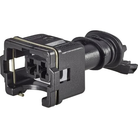 Boîtier femelle pour câble série J-P-T TE Connectivity 282190-1 Nbr total de pôles 2 Pas: 5 mm 1 pc(s) W569971