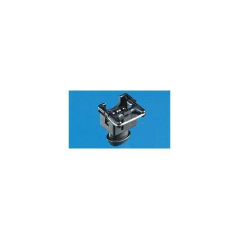 Boîtier femelle pour câble série J-P-T TE Connectivity 828657-3 Nbr total de pôles 2 Pas: 5 mm 1 pc(s) W567851