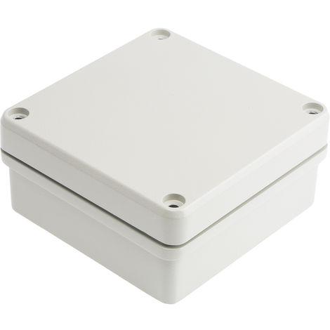 Boîtier IP66, Blindé, Gris, en Fonte d'aluminium, Dimensions 127 x 125 x 60mm, série Conforme