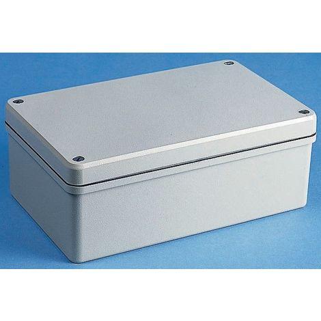 Boîtier IP66, Blindé, Gris, en Fonte d'aluminium, Dimensions 127 x 125 x 90mm, série Conforme