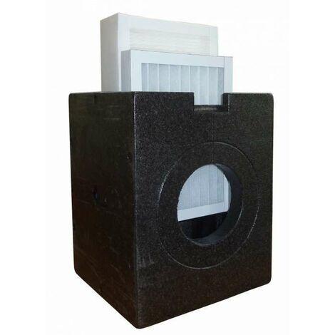 Boîtier iso-box DN 160 avec filtre à charbon actif AK - ZEHNDER COMFOSYSTEMS - 527001290 Boîtier iso-box DN 160 avec filtre à charbon actif AK