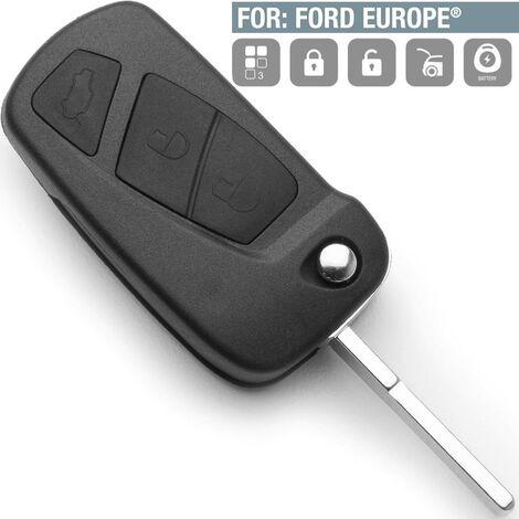 """main image of """"Boitier Plip de remplacement 3 Boutons pour Ford Ka"""""""