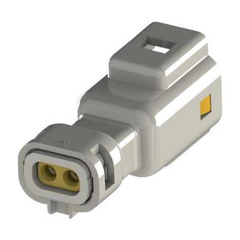 Boîtier pour contacts mâles série 560 EDAC 560-002-000-110 Nbr total de pôles 2 Dimension grille: 2.50 mm 1 pc(s)