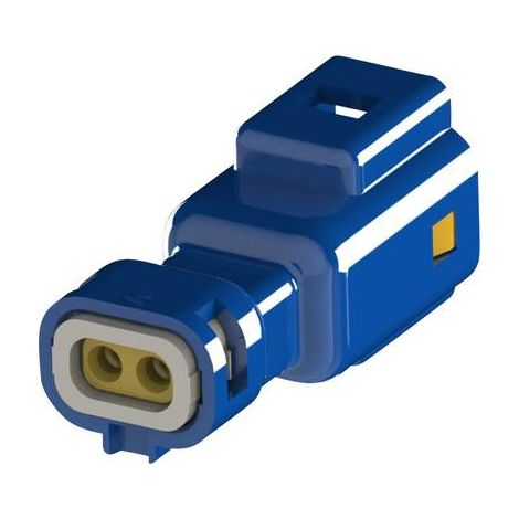 Boîtier pour contacts mâles série 560 EDAC 560-002-000-310 Nbr total de pôles 2 Dimension grille: 2.50 mm 1 pc(s)