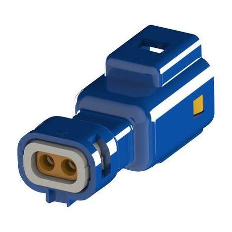 Boîtier pour contacts mâles série 560 EDAC 560-002-000-311 Nbr total de pôles 2 Dimension grille: 2.50 mm 1 pc(s)