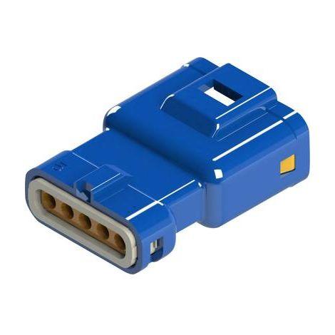 Boîtier pour contacts mâles série 560 EDAC 560-005-000-311 Nbr total de pôles 5 Dimension grille: 2.50 mm 1 pc(s)