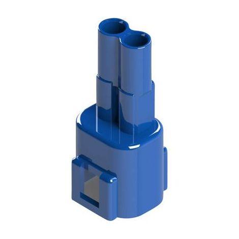 Boîtier pour contacts mâles série 572 EDAC 572-002-000-300 Nbr total de pôles 2 Dimension grille: 5.08 mm 1 pc(s)