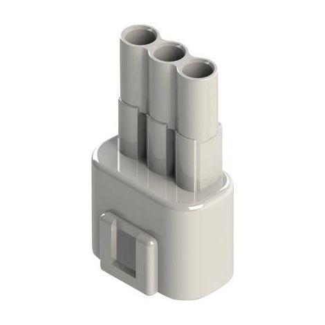 Boîtier pour contacts mâles série 572 EDAC 572-003-000-100 Nbr total de pôles 3 Dimension grille: 5.08 mm 1 pc(s)