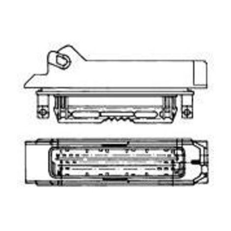 Boîtier pour contacts mâles série J-P-T TE Connectivity 1-963207-1 Nbr total de pôles 4 Dimension grille: 5 mm 1 pc(s)