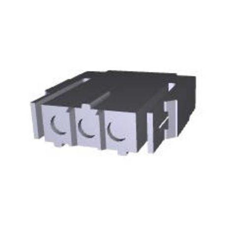 Boîtier pour contacts mâles série Metrimate TE Connectivity 207360-1 Nbr total de pôles 3 Dimension grille: 5 mm 1 pc(s)