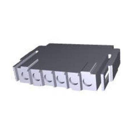 Boîtier pour contacts mâles série Metrimate TE Connectivity 207377-1 Nbr total de pôles 6 Dimension grille: 5 mm 1 pc(s)