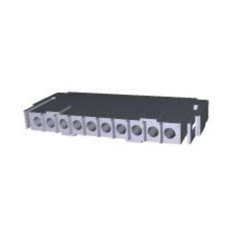 Boîtier pour contacts mâles série Metrimate TE Connectivity 207396-1 Nbr total de pôles 10 Dimension grille: 5 mm 1 pc(s)