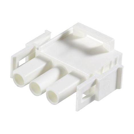 Boîtier pour contacts mâles série Universal-MATE-N-LOK TE Connectivity UNIVERSAL MATE-N-LOK 350735-4 Nbr total de pôles 12 Dimension grille: 6.35 mm 1 pc(s)
