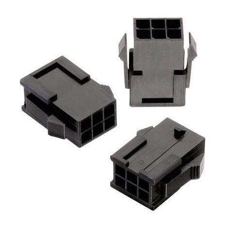 Boîtier pour contacts mâles série WR-MPC3 Würth Elektronik WR-MPC3 66200821822 Nbr total de pôles 8 Dimension grille: 3 mm 1 pc(s)