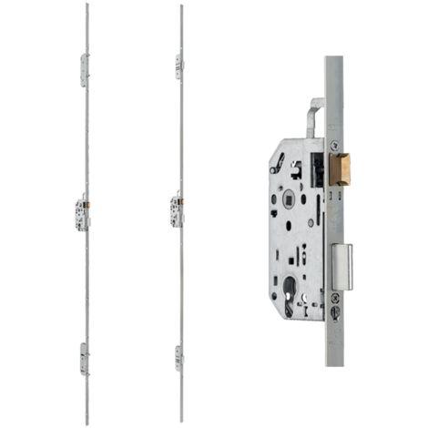 Boitier serrure 3 points Trimax pênes rectangulaires NF QC THIRARD - axe 50mm - 2400x18 mm - 000619