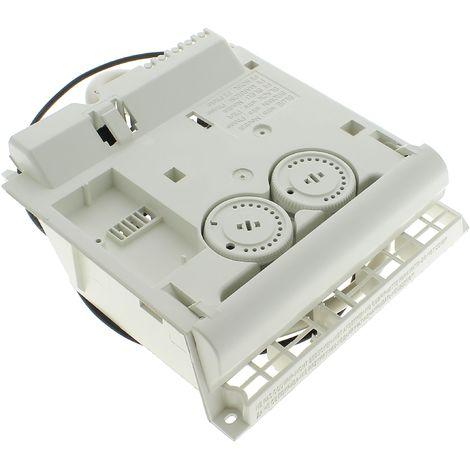 Boitier thermostat blanc 2 molettes pour Radiateur Thermor, Radiateur Sauter, Radiateur Atlantic