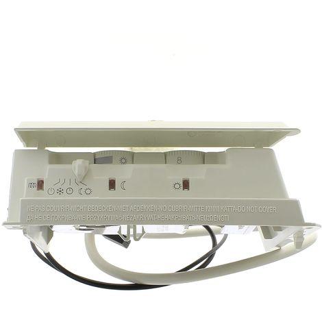 Boitier thermostat complet pour Seche-serviettes Thermor, Seche-serviettes Sauter, Seche-serviettes Atlantic