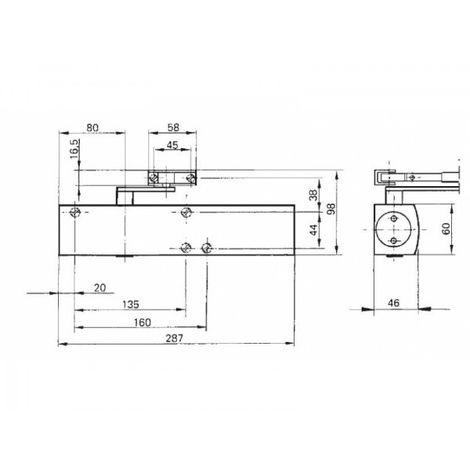 Boîtier TS4000 force 1 à 6 - Gézé