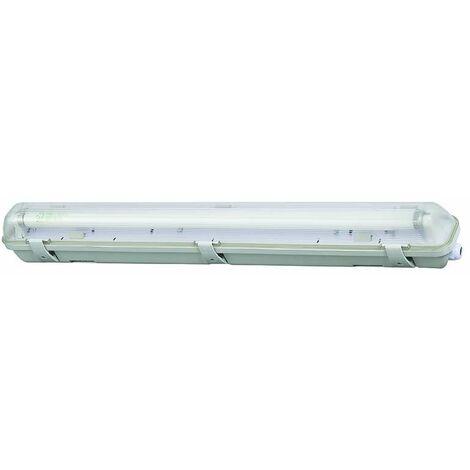 Boitier tube LED T8 étanche 1x600mm